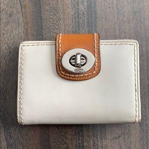 Coach women's leather wallet
